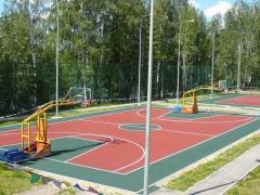 Покритие для спортивних майданчиків
