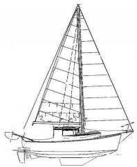 Моторно-парусная яхта «Морж»