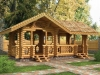 The arbor wooden Sumy, millwork, edged board to