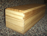 Boxes wooden for packaging of alcoholic drinks,