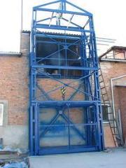Elevator warehouse carg