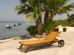 Wooden chaise lounges Sumy to buy a wooden chaise