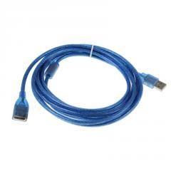 Подовжувач USB 2.0 AM / AF,  5.0m,  1 ферит,...