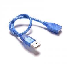 Подовжувач USB 2.0 AM / AF,  0.3m,  прозорий...