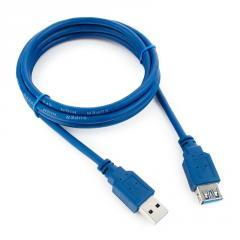 Подовжувач USB 3.0 AM/AF,  1.5m,  Blue,  Q200