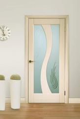 Двери межкомнатные деревянные, шпонированные - Терминус