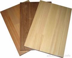 Lining, floor board, block house, glued bar,