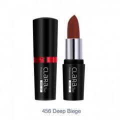 HD матовая помада для губ Unice CLARAline 456 Deep Biege, 4,2 г