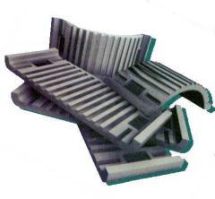Прокладки резиновые для рельсового пути ПНБ-4