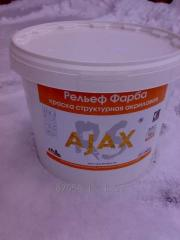 Фарба рельєфна AJAX 16кг