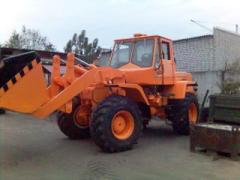 Loaders frontal T 156B, TO 18, TO 30, K 702,