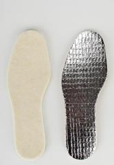 Insoles are shoe, thermo insoles natural with a
