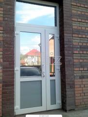 Двери металлопластиковые, Металлопластиковая дверь