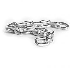 Welded round link chains of general purpose