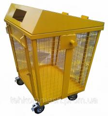 Containers for collecting of the plastic container