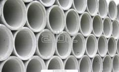 Pipes are reinforced concrete