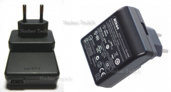 The Nikon EH-68 charger (the block food) for the
