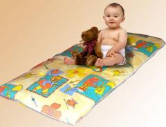 Mattress for a children's bed on the basis of