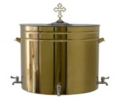 Бак для святой воды 150 л.