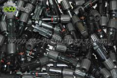 Connectors for solar MC4 batteries of steam,