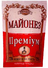 Майонез Премиум в упаковке дой-пак (200г. 500г.)