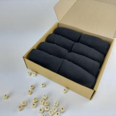 Классические мужские носки в коробочке 40 - 45