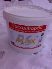 Фарба акрилова фасадна AJAX 10л(14кг)