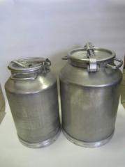 Flask of milk 38 liters aluminum