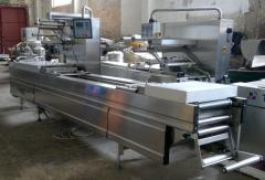 Automatic MULTIVAC R 230 vacuum transfer line