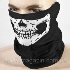 Бафф маска на лицо - Череп