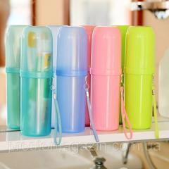 Футляр для зубных щёток и зубной пасты (Дорожный)