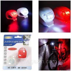 Светодиодный фонарик для велосипеда, самоката,