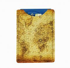 Кожаный картхолдер DevayS Maker 25-01-057