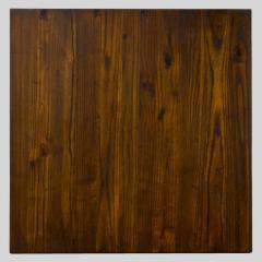 Квадратные столешницы из дерева для кафе и