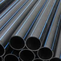 Pressure head pipes from the polyethylene of low