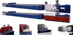 Lines extrusive for production profile