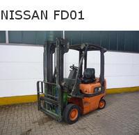 Погрузчики вилочные с дизельным двигателем  NISSAN
