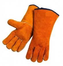 Перчатки сварщиков, перчатки сварщика с крагами