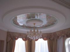 Потолки стеклянные декоративные - плафоны, Одесса