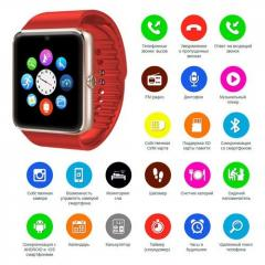 Умные наручные смарт часы Smart Watch GT08 с...