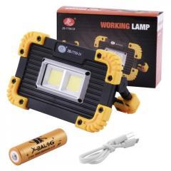 Прожектор светодиодный ZB-7759-24-2COB, ЗУ micro