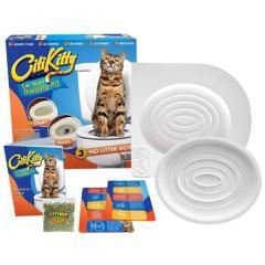 Набор для приучения кошки к унитазу (кошачий