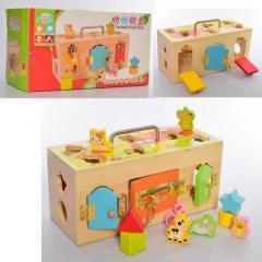 Деревянная игрушка YN Развивающий центр