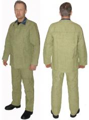 Suit of the welder of 480 squares.