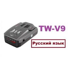 Антирадар V9 TW Black Tilon Радар сигнализация об