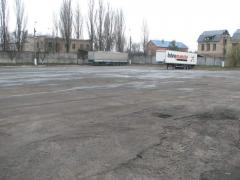 Rent of the open area from 1000 sq.m. Big Distric