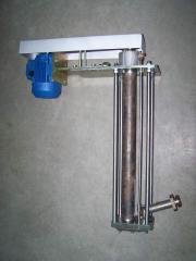 The pump for pumping of lead and alloys