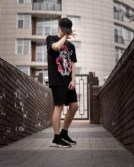 Комплект шорты+футболка Itachi (Арт. 222/Арт. 221)