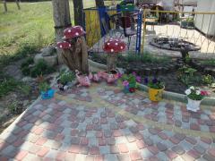 """Плитка для дорожки садовой """"Римский"""