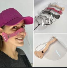 Пластиковая маска для защиты носа и ротовой части